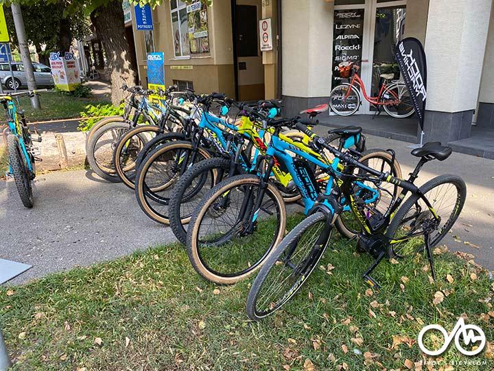Požičovňa e-bicyklov - Levice, Život s bicyklom