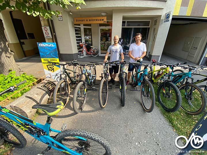 Požičovňa bicyklov a e-bikov - Levice, región Tekov