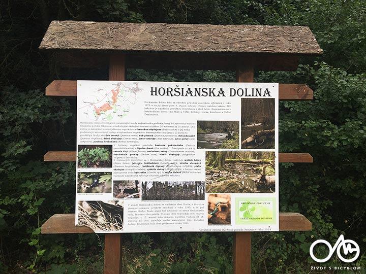Cyklotúra - Horšianska dolina – Brhlovce – Kalinčiakovo, Tekovský región