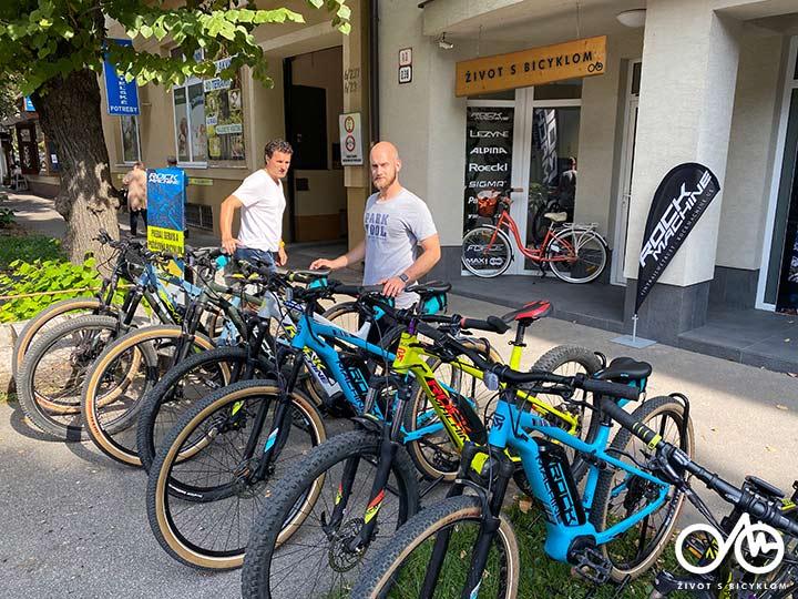 Požičovňa bicyklov a elektrobicyklov - Levice, Tekovský región