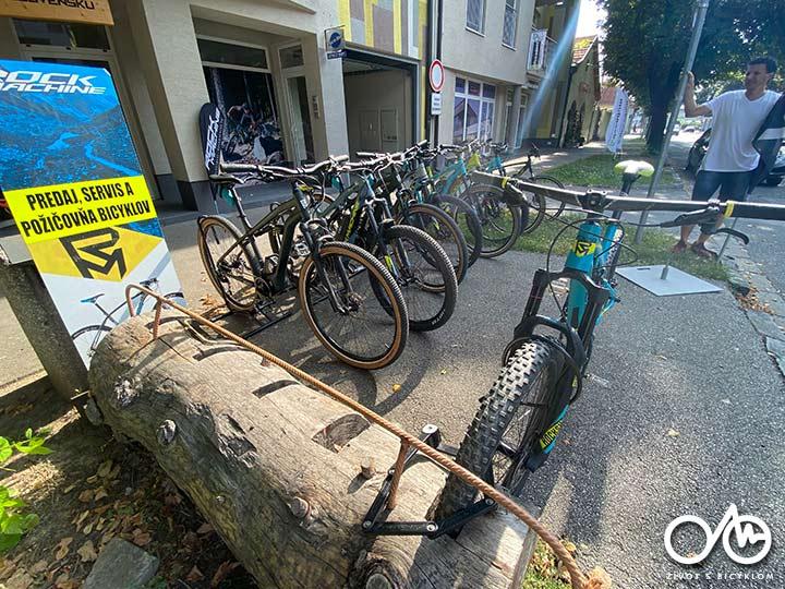 Požičovňa horských elektrobicyklov - Život s bicyklom