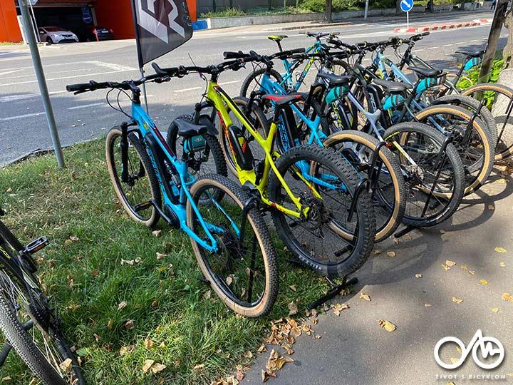 Požičovňa bicyklov a horských e-bikov - Levice, región Tekov