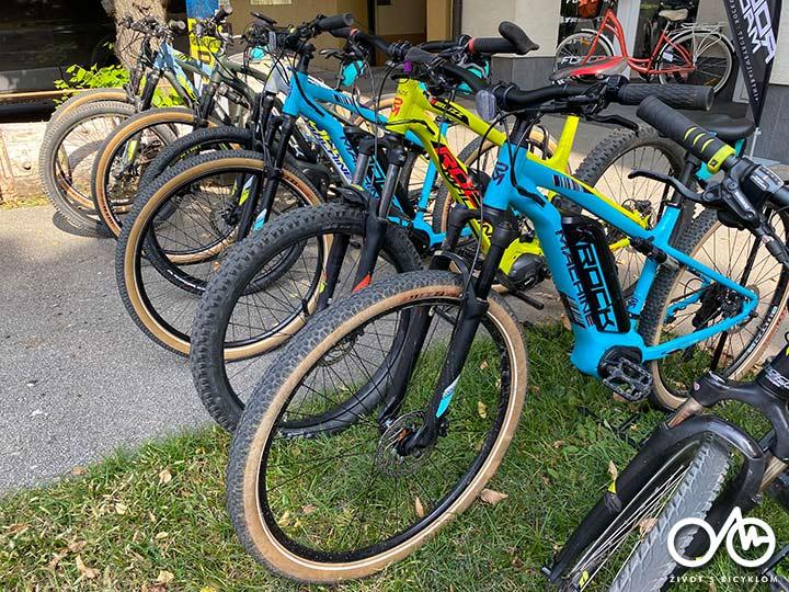 Požičovňa horských bicyklov - Levice, Život s bicyklom