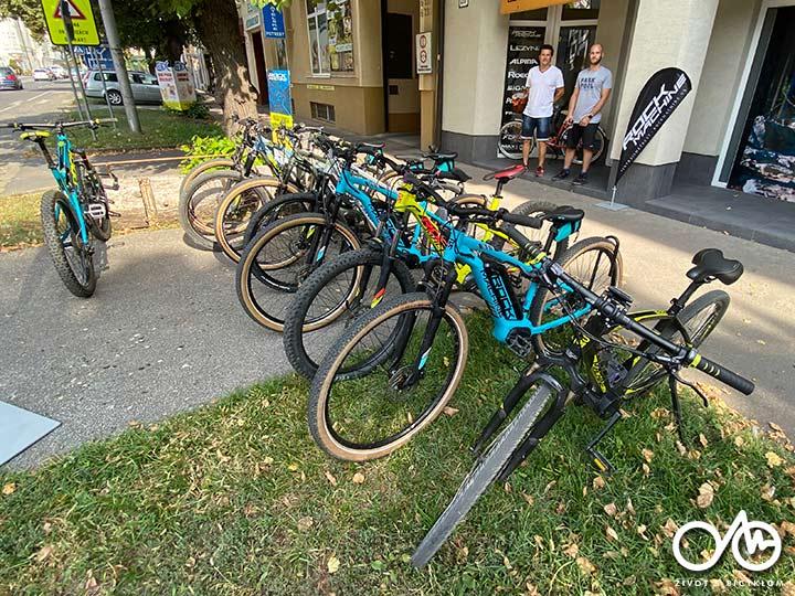 Požičovňa bicyklov a elektrických bicyklov - Levice, Tekovský región