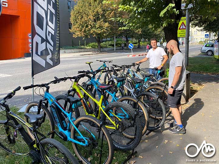 Požičovňa elektrobicyklov - Život s bicyklom, Levice, región Tekov