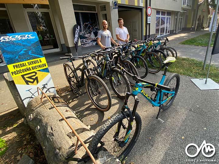 Požičovňa horských bicyklov - Život s bicyklom, Levice, región Tekov