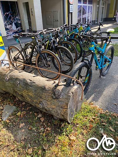 Požičovňa bicyklov - Život s bicyklom, Levice, Tekovský región