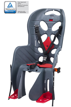 Detská sedačka na bicykel zadná - Požičovňa bicyklov a elektrobicyklov Levice